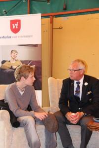 Bevrijdingsfestival 2014 ontmoeting met veteranen (63)