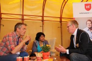 Bevrijdingsfestival 2014 ontmoeting met veteranen (80)