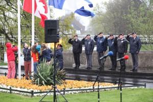 Herdenking bevrijding Zwolle 2014 (2)