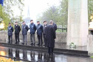 Herdenking bevrijding Zwolle 2014