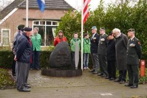 Herdenking monument Eikenlaan 2016